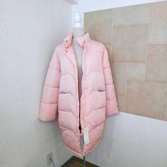 新品タグ付き ロングダウンコート 防寒ジャケット