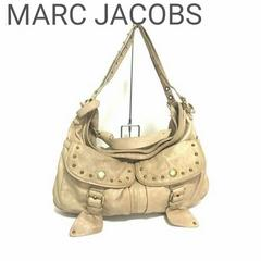正規品 MARC JACOBS レザー スタッズ ハンド  ベージュ