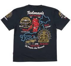 テッドマン/Tシャツ/ネイビー/tdss-496/エフ商会/カミナリモータース
