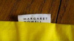 MARGARET HOWELLマーガレットハウエルナイロンバッグ袋シューズウェアロゴナンバー新品