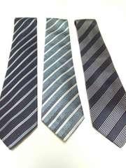 2 ネクタイ 3本まとめ売り シルク100%