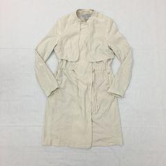 リナオク H&M スプリングコート オフホワイト