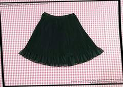 GU♪ブラック♪プリーツスカート★