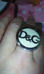 D&G指輪未使用美品鑑定済み