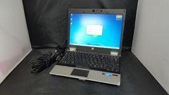 Hp EliteBook 2540p Core i7 2.13GHz 120G 4G 無線 カメラ Win7