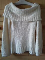 フラワーサークル背中が可愛い☆オフショふんわりセーター