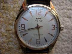 ビンテージ /HMT PILOT ミリタリー  /手巻き腕時計/101
