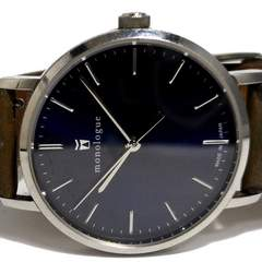 良品 monologue 日本の職人が作った高品質 メンズ腕時計