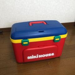 即決 非売品 MIKI HOUSE ミキハウス クーラーボックス