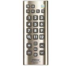 ビクター(Victor)テレビ リモコン RM-A205-N ゴールド