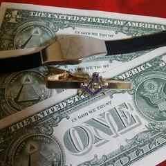 アメリカ紙幣★1ドル札&フリーメイソン
