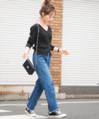 STUDIOUS  田中亜希子 コラボデニム カットオフ