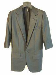 正規新古 絶版 Dior Homme ディオールオム 肘丈テーラードジャケット黒 38 最小
