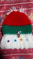 【\600送込処分セール】D13可愛いカラフルな〓手編みニット帽