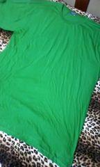 †新品††超大きいサイズTシャツワンピ緑†