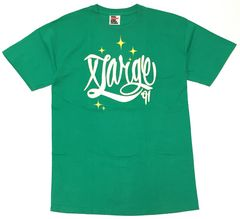 XLARGE エクストララージ Tシャツ バックプリント 緑