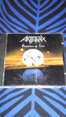 Anthrax/Persistence of time アンスラックス