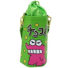 クレヨンしんちゃん≪グリーン≫合皮製チョコビ型ボトルホルダー