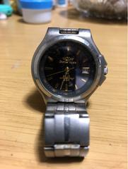 シャルル.ホーゲン ソーラー電池 チタン製腕時計