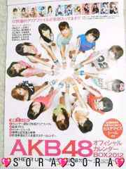 【AKB48】2012年オフィシャルカレンダー特典♪レアポスター