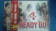 激安!超レア!☆4MINUTE/READY GO☆初回盤A/CD+DVD帯付き!美品!