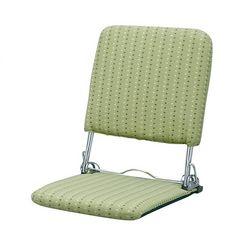 折りたたみ座椅子 グリーン YS-424_GR