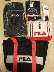 フィラ FILA スポーツ セット バッグ リュック タオル シャツ