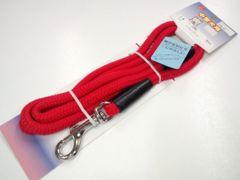 送-円~07kg10kg引紐PU6721赤ショックレスリード10x1200mmレッド散歩dog犬具