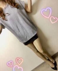 ゆるかわ♪オーバーサイズ★襟元キラキラストーン☆Tシャツ♪