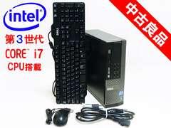 3世代Core i7 OPTIPLEX9010 HDD1TB Mem4GB Win10Pro HDDリカバリ