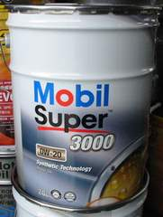 ☆ Mobil Super3000. 0W-20. API SN. ILSAC GF-5.合成オイル 20L