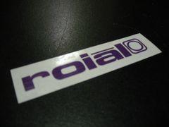 ROIAL ロイアル ステッカー 20cm