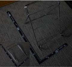 ブックスタンド 書見台 折り畳み式 金属製 レシピ置き 調理本