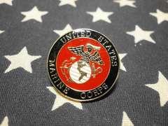 アメリカ海兵隊 エンブレムピンズ 新品