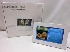 3612★1スタ★Wizz 7インチ デジタルフォトフレーム WF-7000