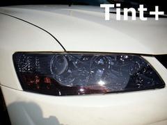 Tint+何度も使えるCT9A/CT9Wランエボ789ヘッドライト スモークフィルム
