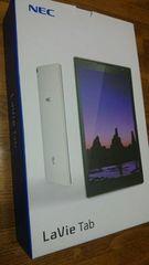 即決NECタブレットSIMフリー LaVie Tab S TS708T/T1Wケース付パールホワイト