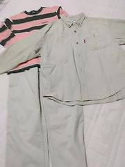 140 まとめ売り 綿パン&シャツ&Tシャツ レタパ510