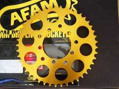 (7704)CBX400FCBX400F2用AFAM製ゴールドスプロケット