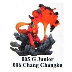 海洋堂 サイボーグ009 ヴィネット 005 G・ジュニア&006 張々湖 フィギュア