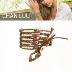 本物ChanLuu天然石ラップブレスレットMOPloopknotチャンルー