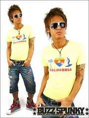 BUZZSPUNKYバズスパンキーEIGHTYOLDSURF Tシャツ/L