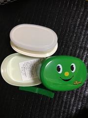 新品 ニッキョロ 小判 2段 弁当箱 緑