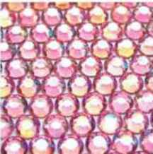 ● 5mm ● デコ用ストーン  2000粒 ライトピンク