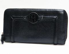 500円スタート!本物 トリ-バーチ ラウンドファスナー長財布