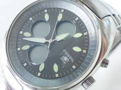 6025/FOSSILフォッシル★アナデジタイプCH-2304メンズ腕時計格安出品