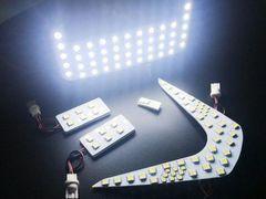 トヨタ/C-HR専用/白色ホワイトSMD-LEDルームランプセット/室内灯
