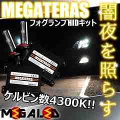 mLED】ランドクルーザー100中期/フォグランプHIDキット/HB4/4300K