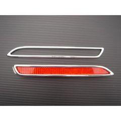 レクサス メッキ リフレクター リアバンパー ライト ランプ リング IS-F USE20