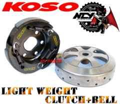 KOSO軽量クラッチ+NCYアウターAF27/AF28/AF35ライブディオZXスーパーディオZX